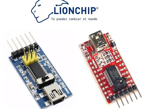 Programador FTDI a USB Serial TTL Adaptador