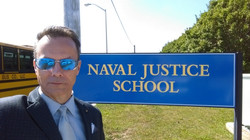 Acting at the Naval Justice School