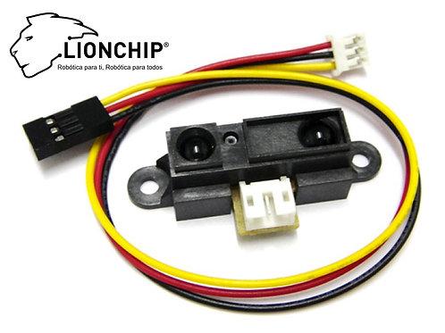 Sensor de Distancia Infrarrojo Sharp Gp2d120 4-30 cm