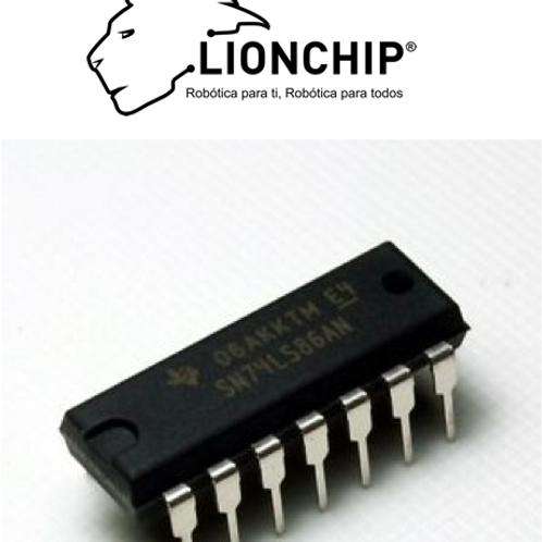 74LS86 XOR Compuerta Logica TTL