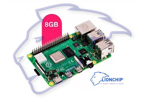 Raspberry Pi 4 de  8GB RAM