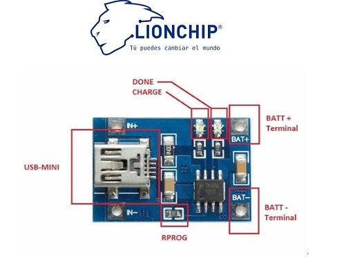 TP4056 5v 1A Cargador para batería de litio