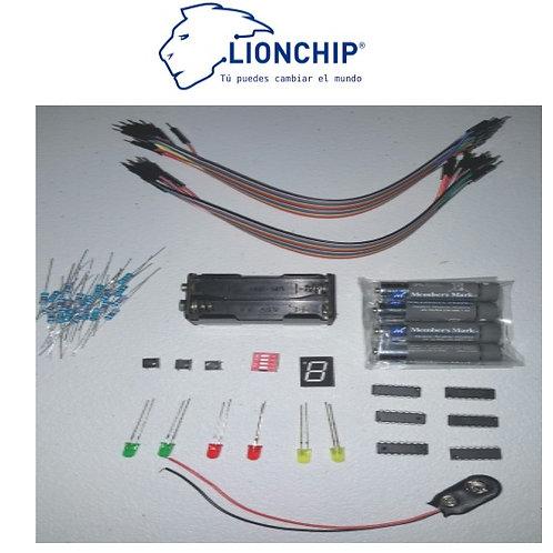 Kit Compuertas Logicas Organización Computacional