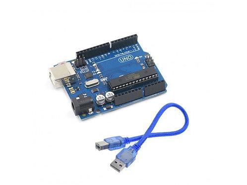 Placa UNO Con Cable Compatible Con Arduino IDE