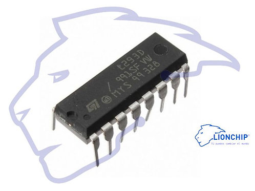 Controlador Shield Motores con chip puente H L293