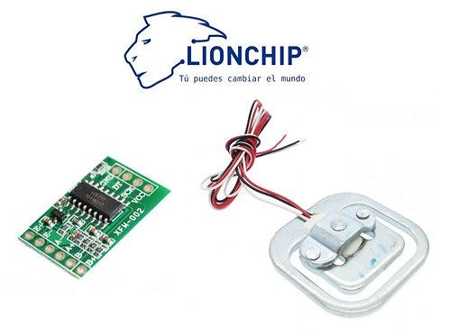 Celda de Carga 50 Kg con HX711 Sensor Peso