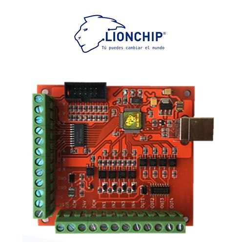 Interfaz Controlador de CNC USB Mach 3, 4 Ejes