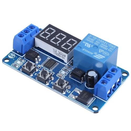 Temporizador Programable 12 VDC Timer Relay Relevador