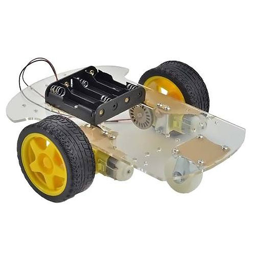 Kit Chassis para Carro Robot de 2 Ruedas Chasis