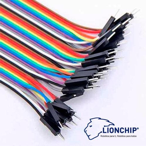 20 Cables Jumper Dupont Macho Macho