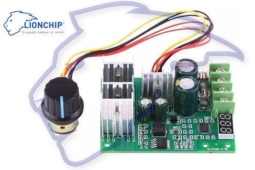 Control Regulador de Velocidad Para Motor Dc Pwm 6-60v 30a