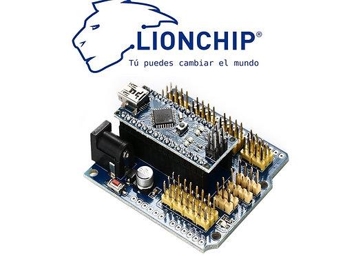 Arduino Nano con Shield de Expansion