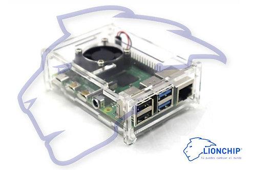 Carcasa Case Acrilico Raspberry Pi 4 B