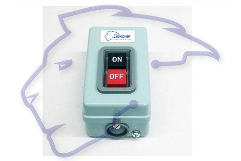 Caja Botonera ON OFF Paro Arranque 30 Amperes Interruptor