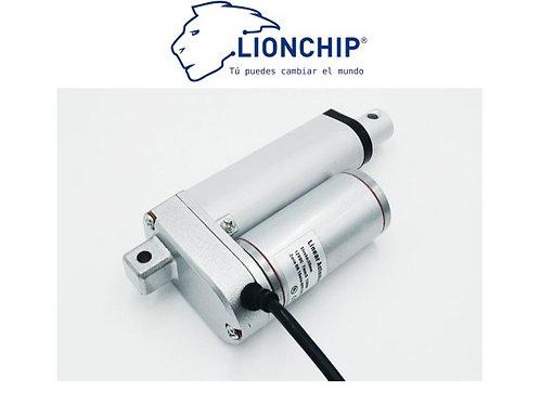 Motor Actuador Lineal 50mm 12V 132Kg Piston Vastago
