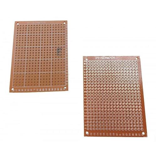 Tarjeta PCB Perforada 5 cm x 7 cm