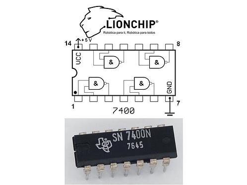 74LS00 NAND Compuerta Logica TTL