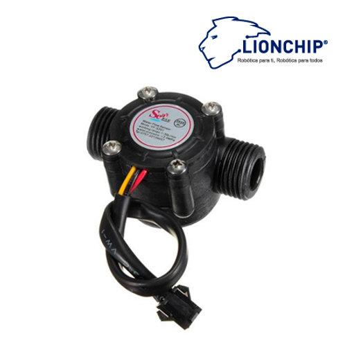 YF-S201 Caudalímetro Sensor de Flujo 1/2 plg. Efecto Hall