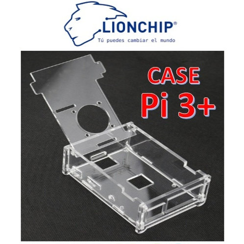 Carcasa Case Acrilico Raspberry Pi 3 2 B+
