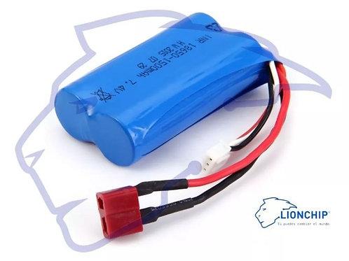 Bateria Litio Pila Lipo 7.4v 1500mah 2 Celdas