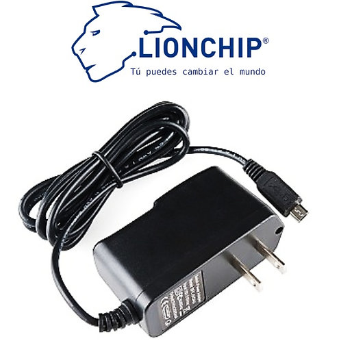 Fuente Eliminador 5v 2A Micro USB Raspberry Pi 3