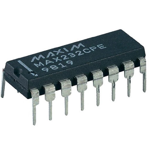 MAX232 Convertidor RS232 -TTL