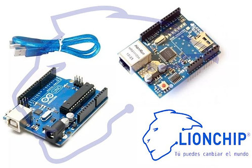 Kit Arduino y Ethernet Shield