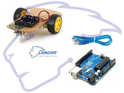 Kit Arduino con Chasis para carro robot