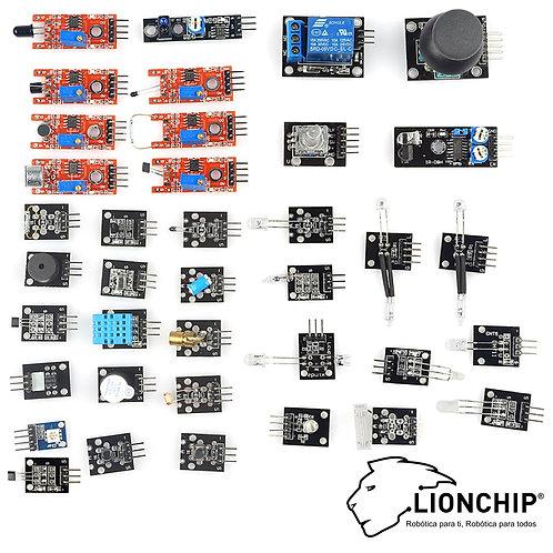 Kit de 37 Sensores en 1 para Arduinos y Micros