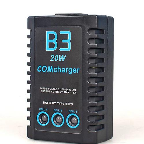 Cargador Baterias 20 Watts Litio Lipo 2s y 3s Celdas