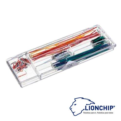 Paquete de 140 Cables Para Protoboard Varios Tamaños Hard