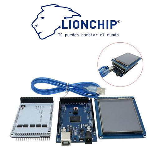 Arduino Con Pantalla y Shield 3.2 Plg.