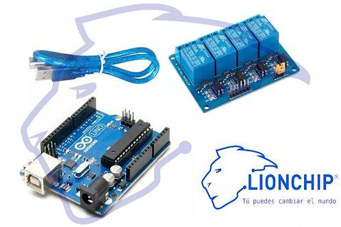 Kit Arduino y Relevador