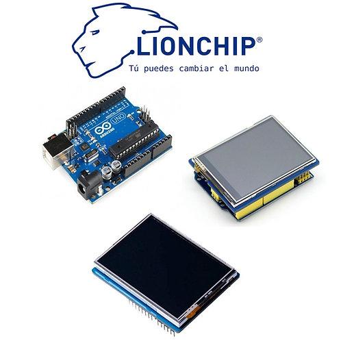 Placa Uno Con Pantalla Touch TFT 2.8 Plg Compatible con Arduino IDE