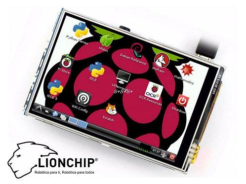 Pantalla Touch 3.5 plg. Para Raspberry