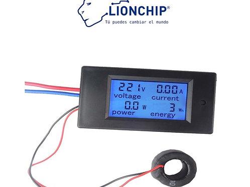 Panel Indicador Wattimetro Amperimetro Voltimetro 80-260VAC