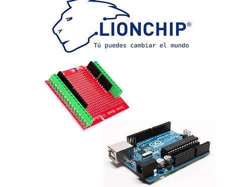 Screw Shield Clemas con Arduino UNO