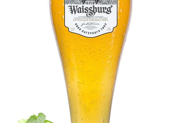 ПИВО WAISSBURG BLANCHE ПШЕНИЧНЕ 4,7%
