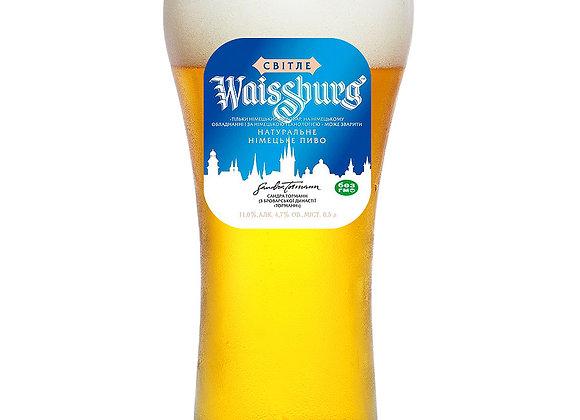 ПИВО WAISSBURG ЛАГЕР 4,8%