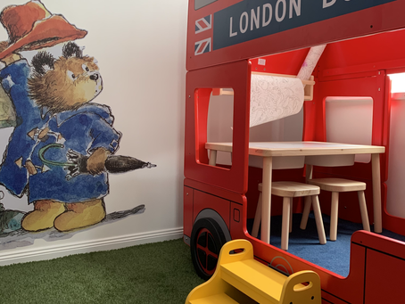 Our new children's playroom