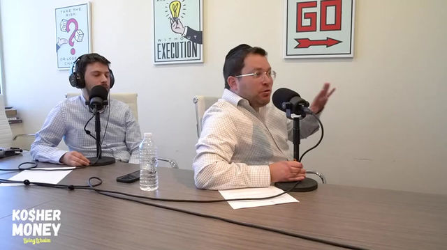 Is This The Biggest Issue Facing Orthodox Jews? (Ft Zevy Wolman & Yaakov Langer)   KOSHER MONEY EP 1