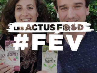 Les actus food : fin des fraises d'hiver, label CQLP, succès de Carrés Futés, arrivée de Picnic...