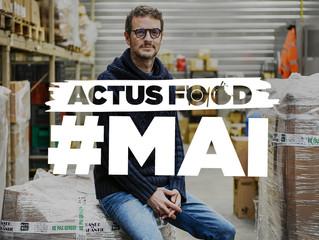 Actus Food : Boris Tavernier, Greta Thunberg, Danone, Apple, Groupe Bel...
