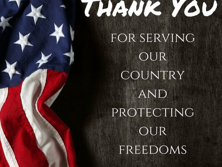 Happy Veterans Day!! 25% OFF Tax Services...