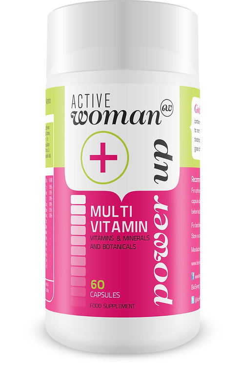 Active Woman® Multivitamin - 60 capsules