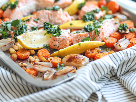 ROASTED SALMON TRAY