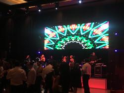 8' x 20' LED screen