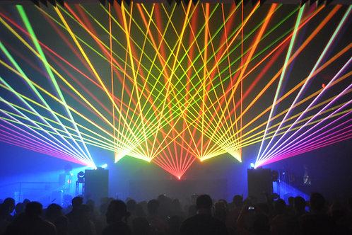 Premium 6 Watt RGB Laser Show