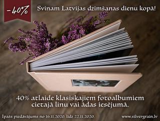 Svinam Latvijas dzimšanas dienu kopā!