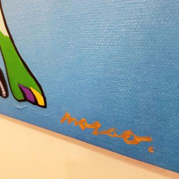 サインはすべてハタヤママサオ本人による直筆。